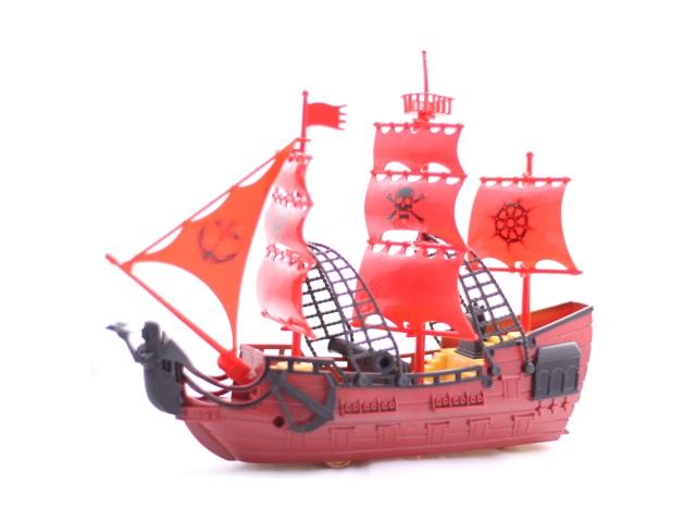 Корабль Гроза морей-3 пластик в коробке, Рыжий кот И-7965