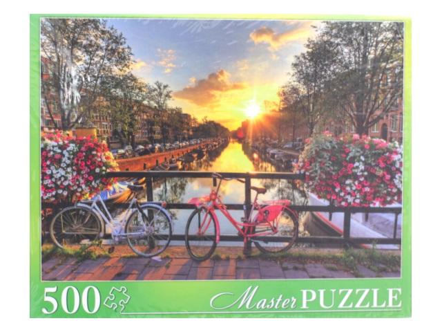 Пазлы  500 деталей Закат в Амстердаме Masterpuzzle ГИМП500-6158/6