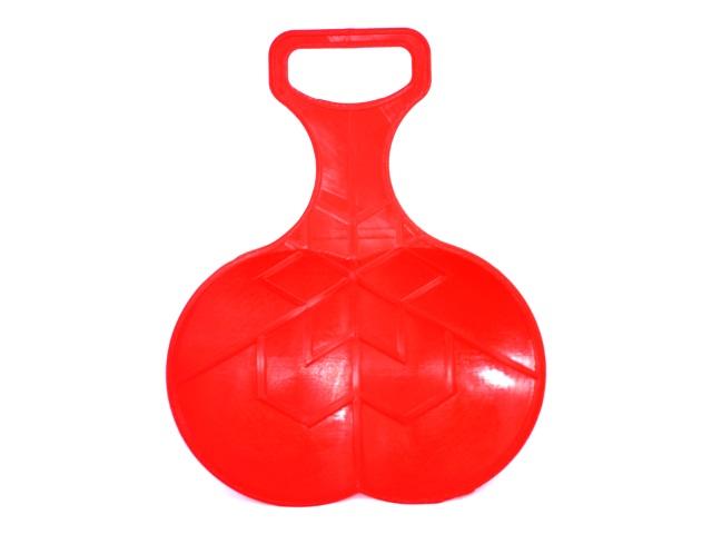 Санки-ледянки красные И-5535