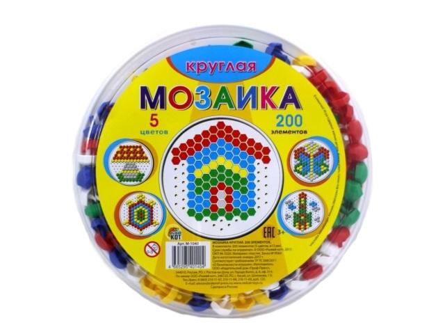 Мозаика 200 деталей d=13мм М-1040