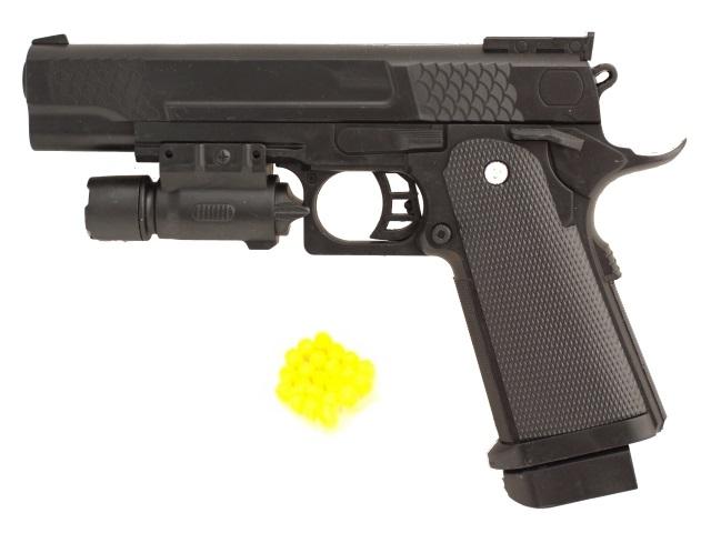 Пистолет на пульках 20 см W.002-2