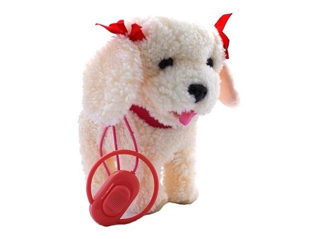Собака на батарейках с поводком