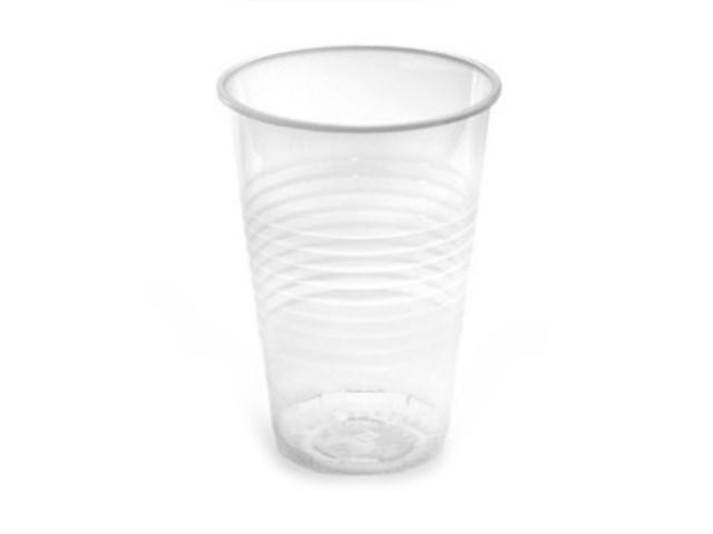Стаканы пластиковые 180мл 100 шт. Пласт Индустрия 186