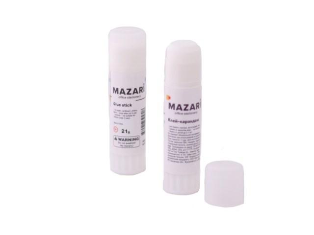 Клей-карандаш 21г Mazari Hitomy М-5672S