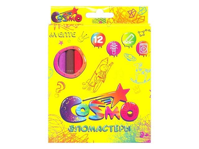 Фломастеры 12цв DeVente Cosmo 5081311