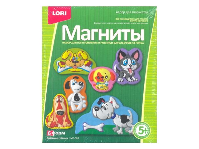 Магниты из гипса Забавные собачки МР-008