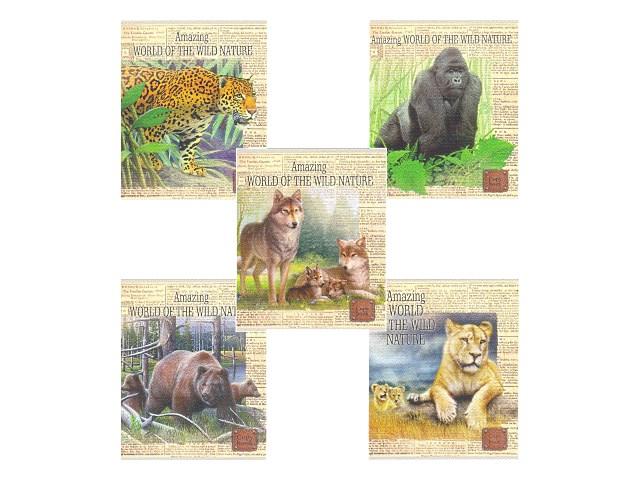 Тетрадь 48л клетка лён Многообразие животных Prof Press 48-9957
