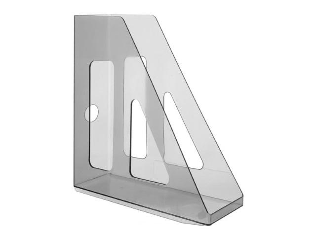 Лоток вертикальный  7см прозрачный Актив ЛТ512