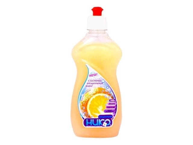 Моющее средство для посуды 500 мл Апельсин Капля, Нико