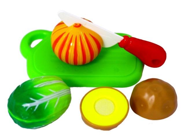 Набор для резки овощей 5 предметов пластик в сумке 453042