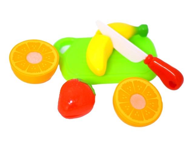 Набор для резки фруктов 5 предметов пластик в сумке 453043