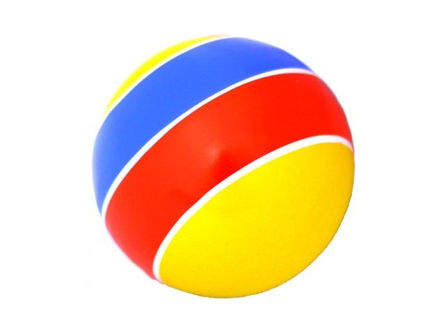 Мяч 10 см Полосы с-20ЛП