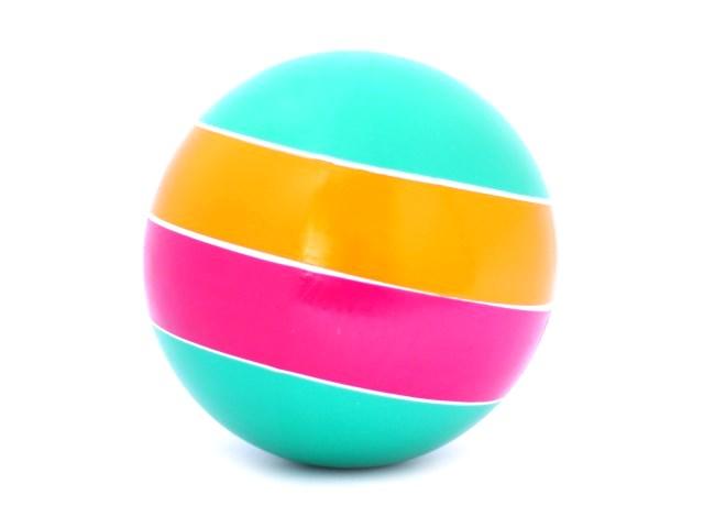 Мяч 20 см Полосы с-23ЛП