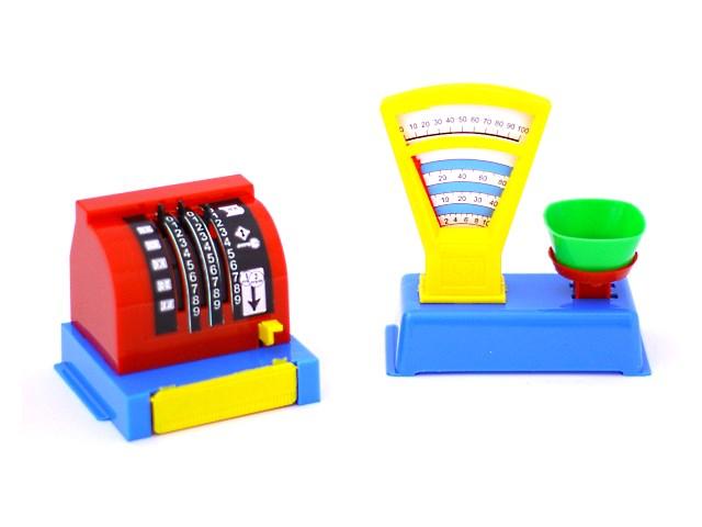 Касса и весы в наборе пластик 22002