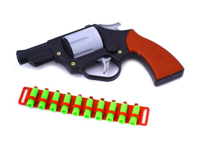 Револьвер на пульках 19см С-82-Ф