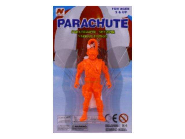 Запускная игрушка Парашютист 10 см, арт. S222-B4