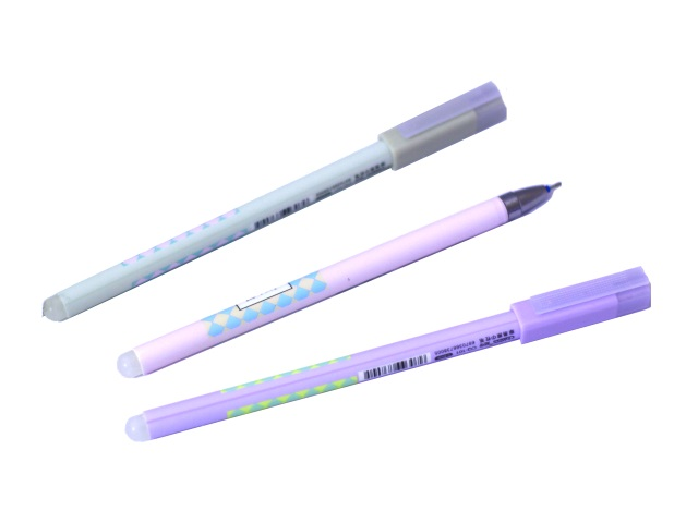 Ручка пиши-стирай Basir CQ-101 гелевая синяя 0.5мм
