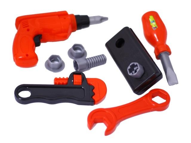 Инструменты  10 предметов пластик в сетке 638-5В