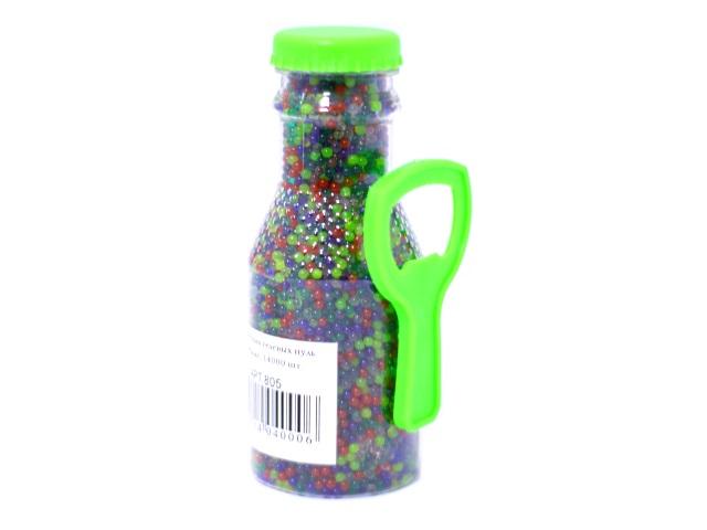 Пульки гелевые 4000 шт. в бутылке с открывашкой 805