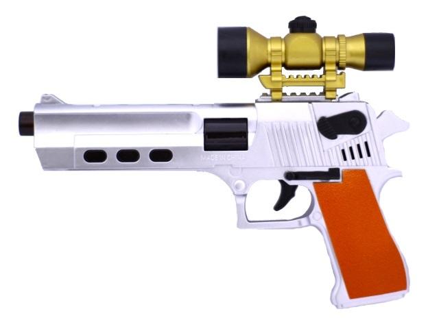 Пистолет на батарейках с прицелом Teles core W630-3