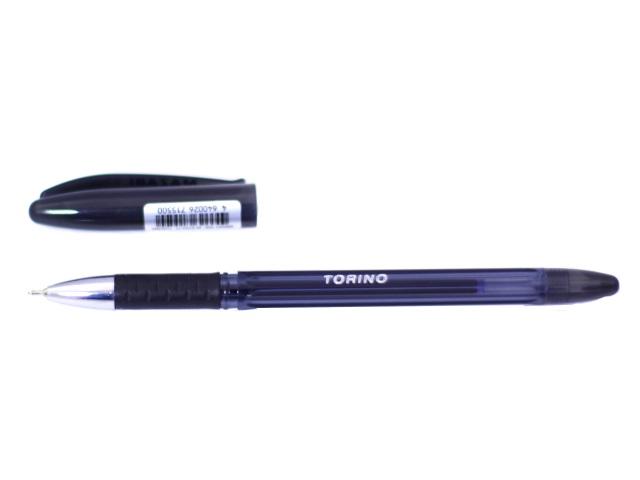 Ручка масляная Mazari Torino черная 0.7мм M-5701-71
