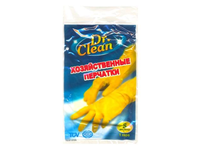 Перчатки резиновые Dr.Clean размер S