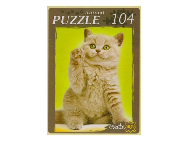 Пазлы  104 детали Самый любимый котенок П104-2633