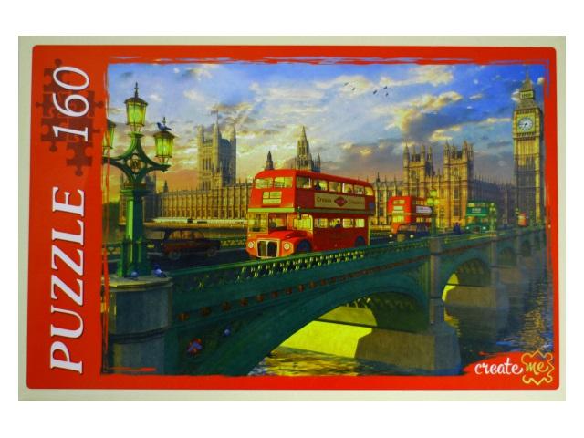 Пазлы  160 деталей Мост в Лондоне Рыжий кот МГ160-4039