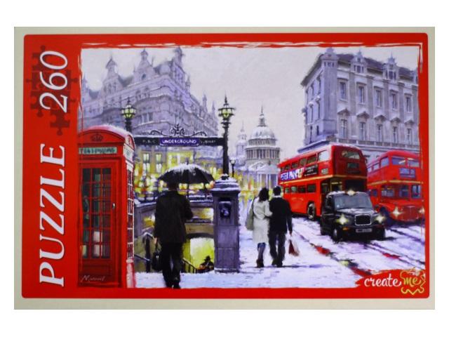 Пазлы  260 деталей Дождь в Лондоне АЛ260-4025