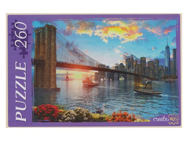 Пазлы  260 деталей Мост в Бруклине МГ260-4015