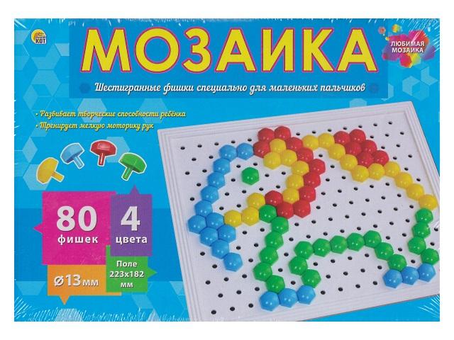 Мозаика  80 деталей d=13мм М-0282