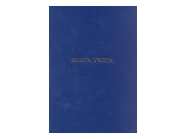 Книга учета А4 160л тв/обложка бумвинил офсет L-98-210