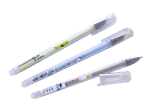 Ручка пиши-стирай Basir Котята гелевая синяя 0.5мм CQ-107
