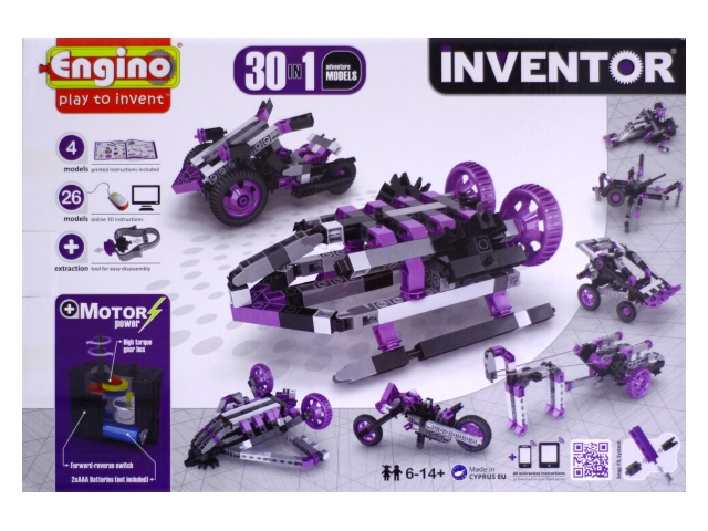 Конструктор с мотором 30в1 Inventor 3031