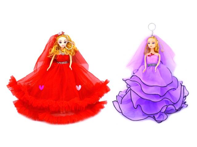 Кукла Невеста с брелком 28 см 171027-3 171027-5