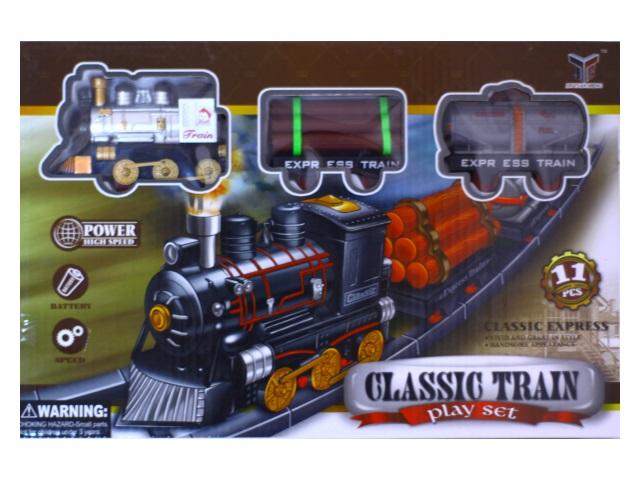 Железная дорога на батарейках Classic Train 171010-10