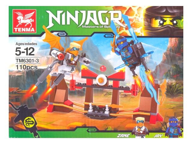 Конструктор 110 деталей Ninjagr ТМ6301-3 171028-1/8