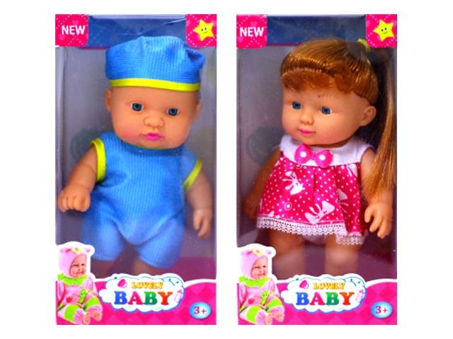 Пупс Lovely Baby 15 см ассорти 171004-5