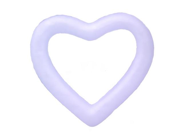 Сердце из пенопласта 13 см S-2753