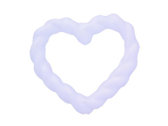 Сердце из пенопласта 14*15.5 см S-2754