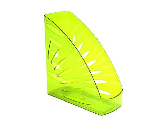 Лоток вертикальный 10см Стамм Тропик зеленый лайм тонированный ЛТ357
