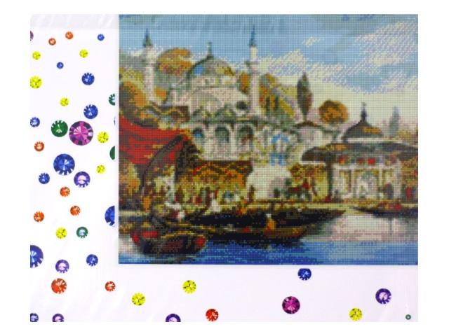 Алмазная мозаика 40*50 см Мечеть, Mazari M-6417