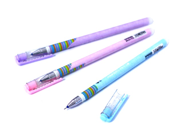 Ручка пиши-стирай Basir HY-5011 гелевая синяя 0.38мм