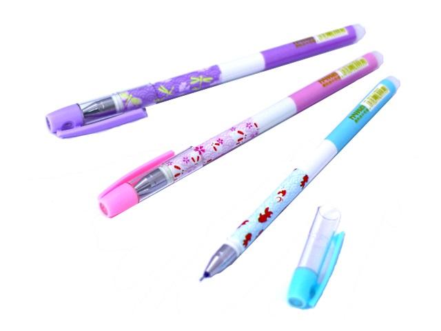 Ручка пиши-стирай Basir HY-5013 гелевая синяя 0.38мм