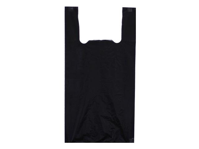 Пакет майка 30*55 см черный АИР/100