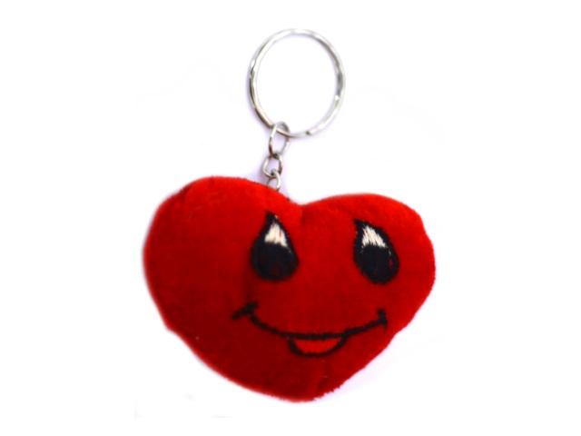 Брелок мягкая игрушка Сердце 7*5см
