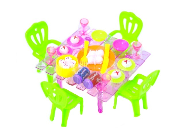 Мебель для куклы Праздничный стол 171016-7