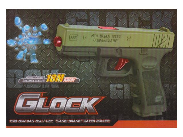 Пистолет на гель пульках Glock 33370