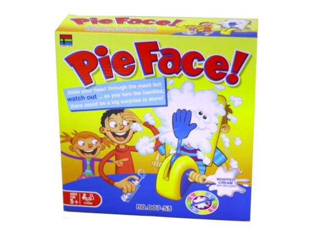 Настольная игра Пирог в лицо! 007-53