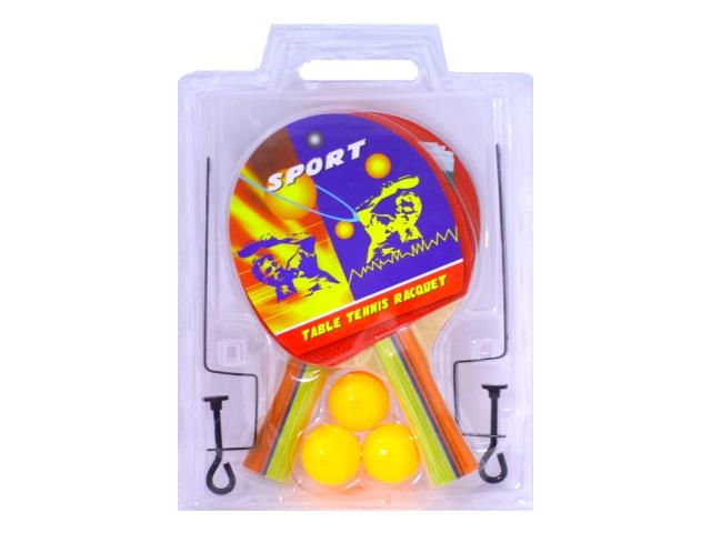 Теннис 2 ракетки 3 шарика сетка W005-H30093